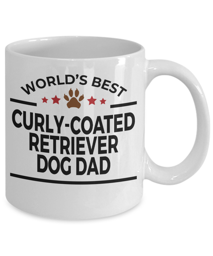 Curly-Coated Retriever Dog Dad Coffee Mug