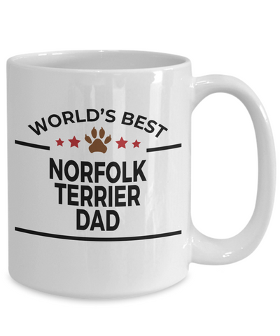 Norfolk Terrier Dog Dad Coffee Mug