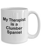 Clumber Spaniel Dog Owner Lover Funny Gift Therapist White Ceramic Coffee Mug