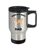 Shiba Inu Best Dog Dad Travel Mug