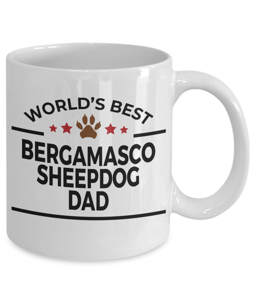 Bergamasco Sheepdog Dad Coffee Mug