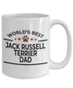 Jack Russell Terrier Dad Coffee Mug