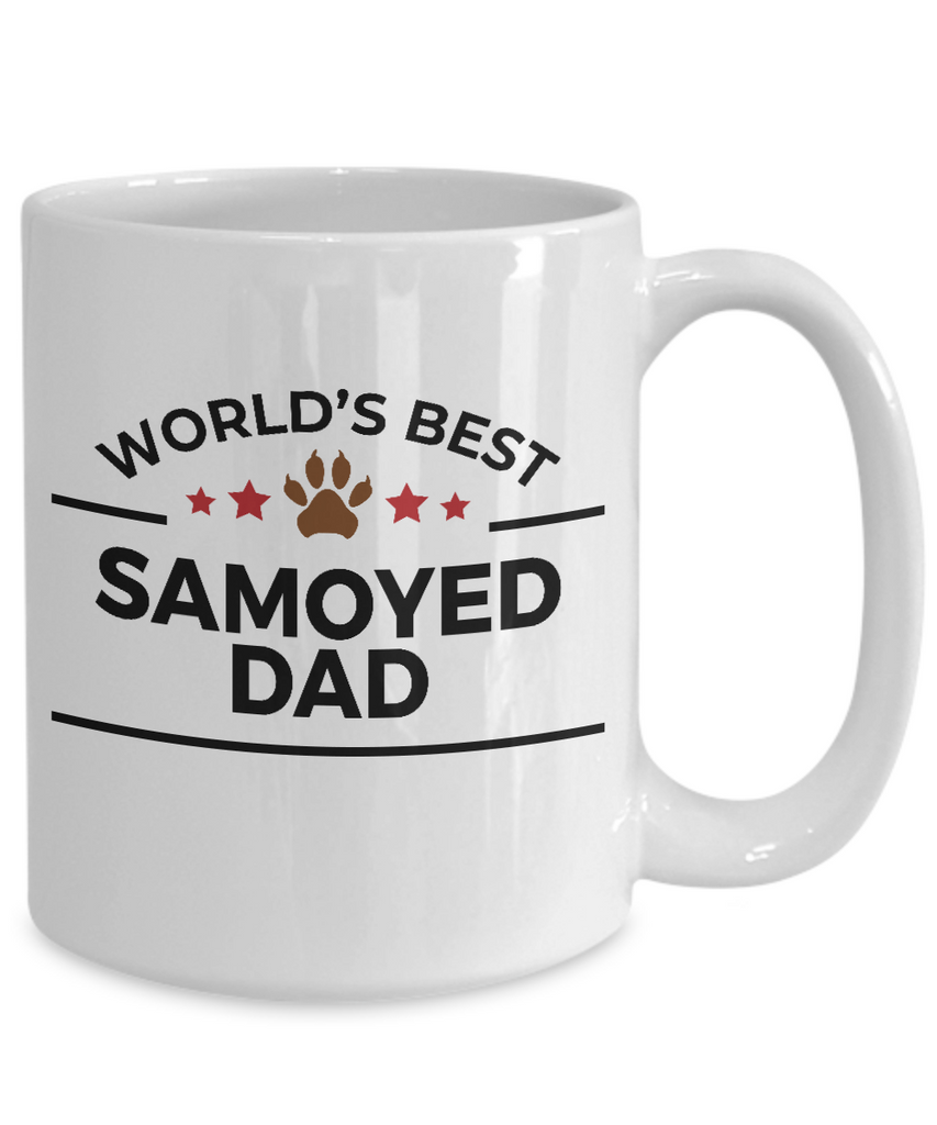 Samoyed Dog Dad Coffee Mug