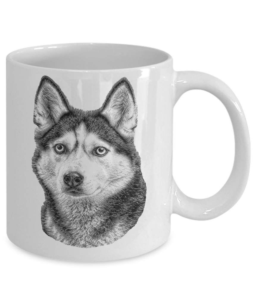 Siberian Husky Dog Breed Mug