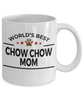 Chow Chow Dog Mom Coffee Mug