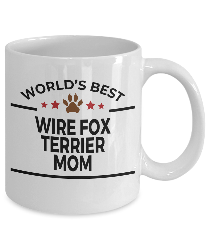 Wire Fox Terrier Dog Mom Coffee Mug