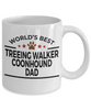 Treeing Walker Coonhound Dog Dad Mug