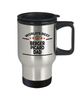 Berger Picard Dog Dad Travel Coffee Mug