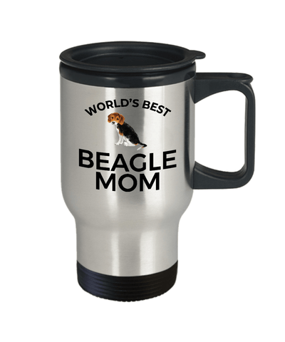 Beagle Puppy Dog Mom Travel Coffee Tea Mug