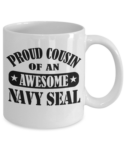 Navy Seal Cousin Coffee Mug