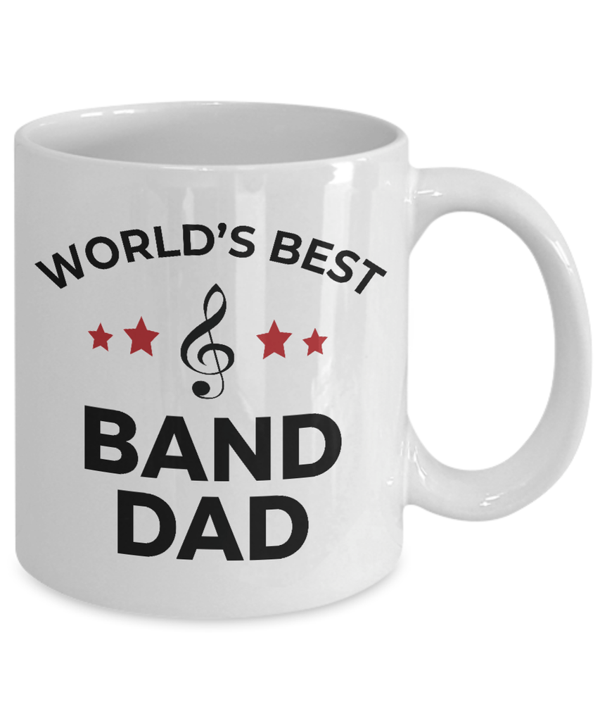 Band Dad Coffee Mug