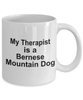 Bernese Mountain Dog Therapist Coffee Mug
