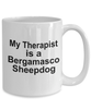 Bergamasco Sheepdog Dog Therapist Coffee Mug