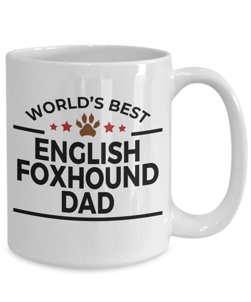 English Foxhound Dog Dad Mug