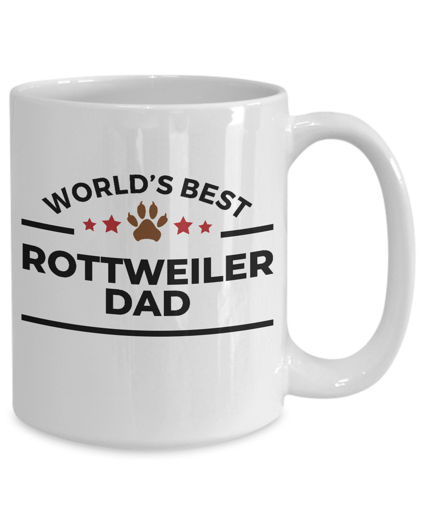 World's Best Rottweiler Dad Ceramic Mug