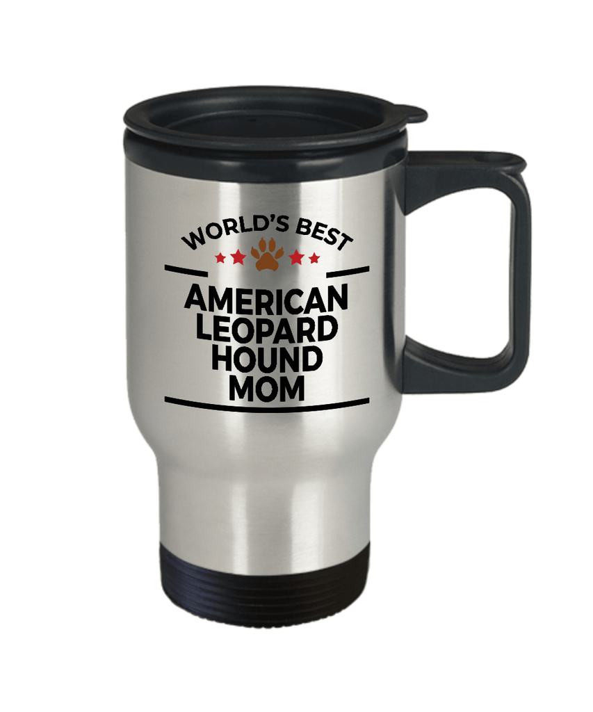 American Leopard Hound Dog  Mom Travel Coffee Mug