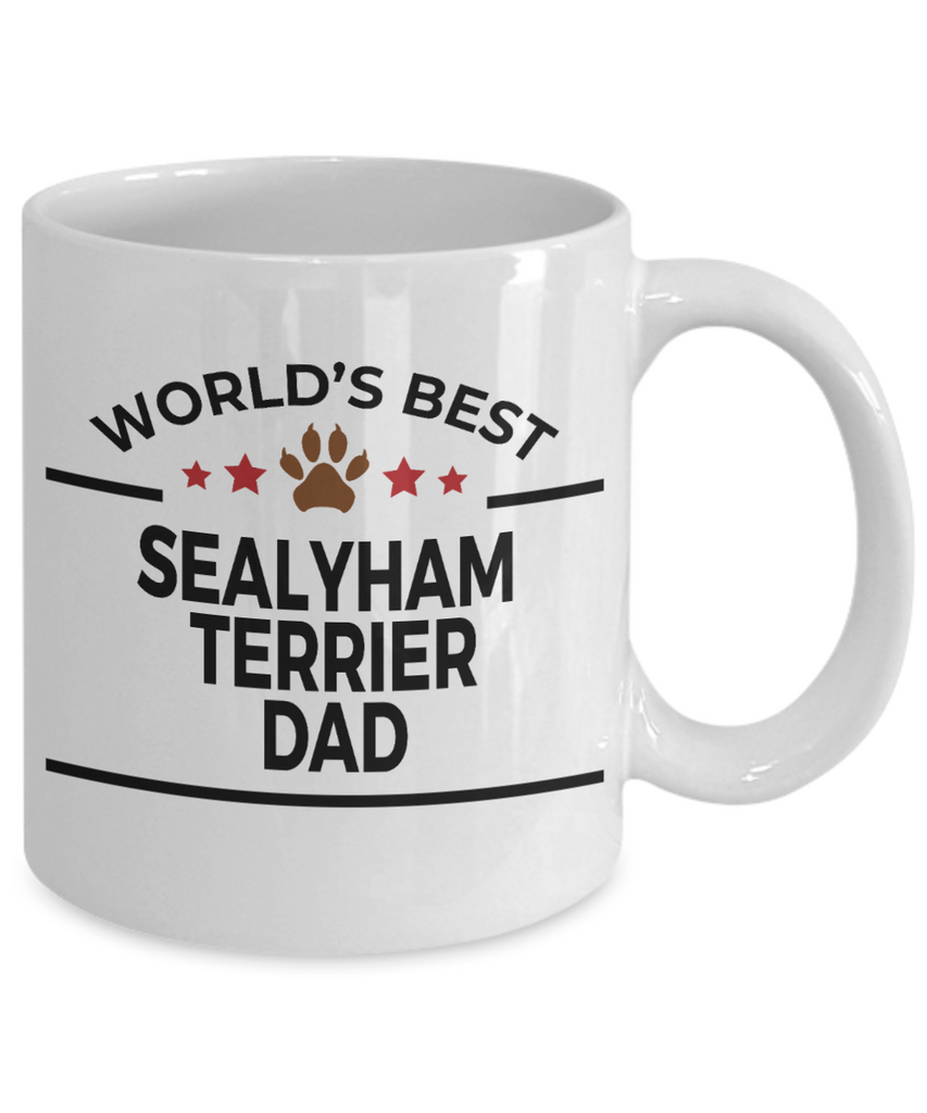 Sealyham Terrier Dog Dad Coffee Mug