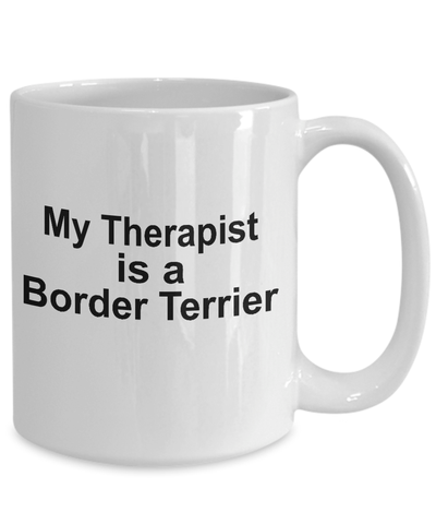 Border Terrier Dog Therapist Coffee Mug