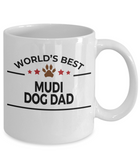 Mudi Dog Dad Coffee Mug