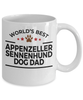 Appenzeller Sennenhund Dog Dad Coffee Mug