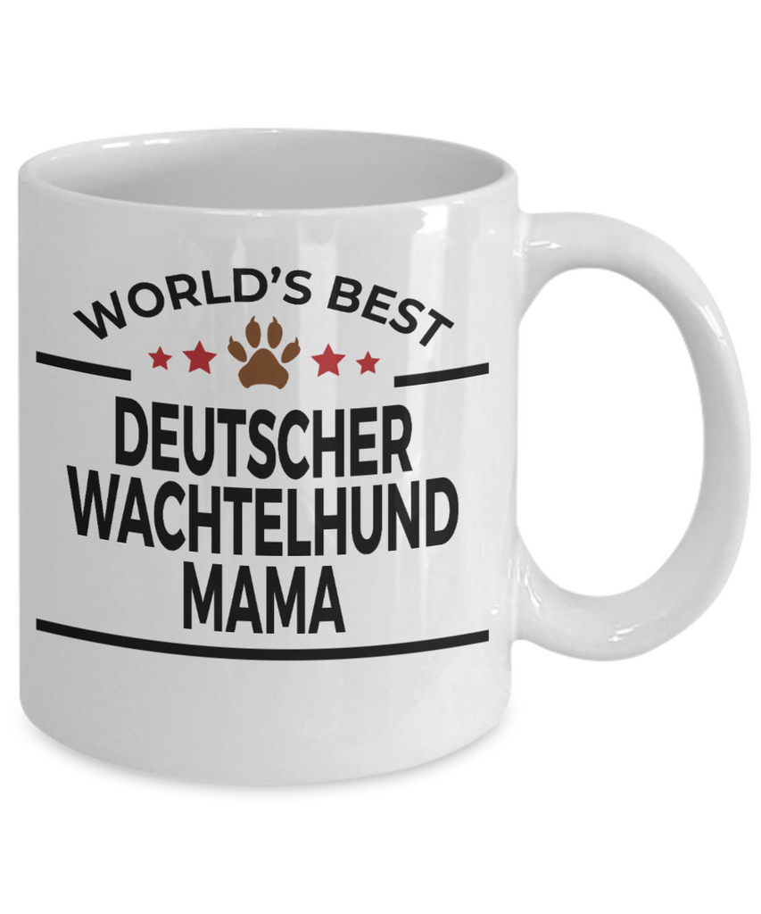Deutscher Wachtelhund Dog Mama Coffee Mug
