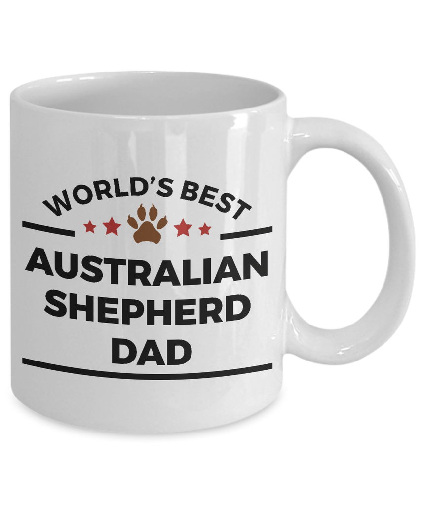Australian Shepherd Dog Dad Mug