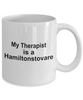 Hamiltonstovare Dog Owner Lover Funny Gift Therapist White Ceramic Coffee Mug