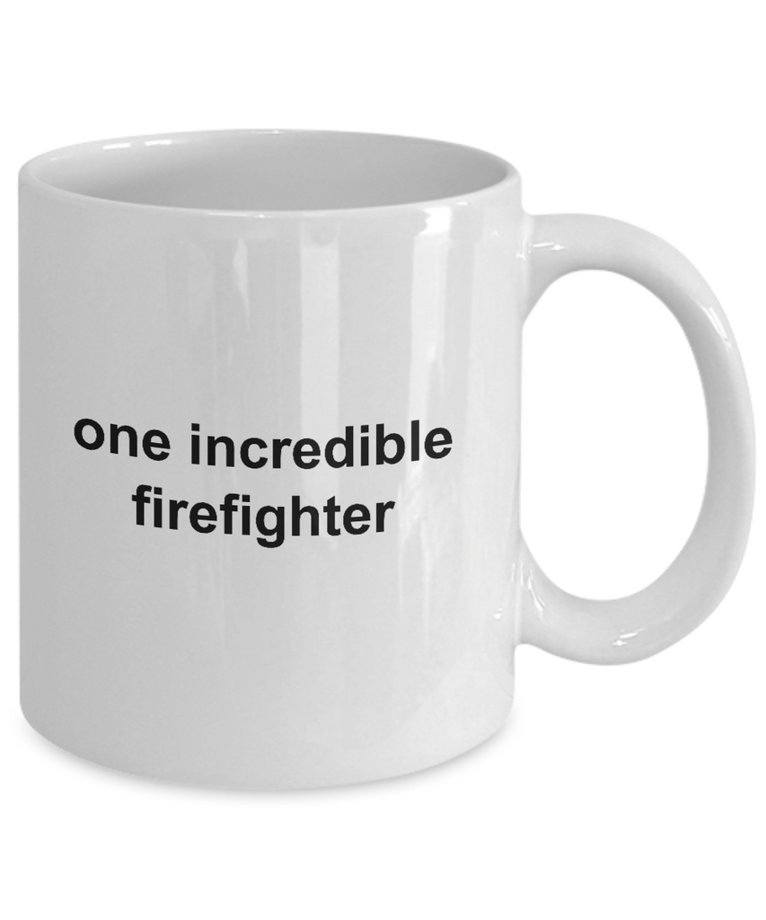 One Incredible Firefighter Coffee Mug