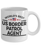US Border Patrol Agent Gift Birthday Father's Day Mother's Day Appreciation White Ceramic Coffee Mug