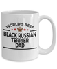 Black Russian Terrier Dog Dad Coffee Mug