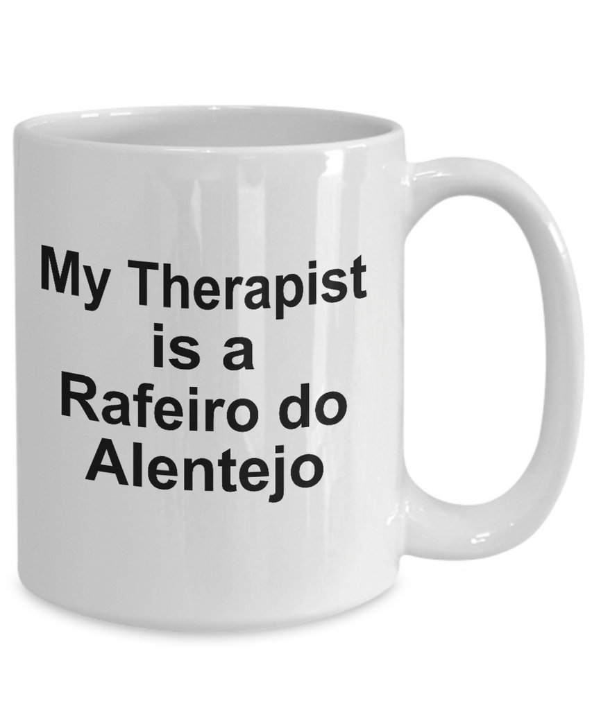 Rafeiro do Alentejo Dog Owner Lover Funny Gift Therapist White Ceramic Coffee Mug
