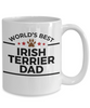 Irish Terrier Dog Dad Coffee Mug
