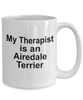 Airedale Terrier Dog Therapist Coffee Mug