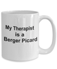 Berger Picard Dog Owner Lover Funny Gift Therapist White Ceramic Coffee Mug
