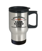 Cane Corso Dog Dad Travel Coffee Mug