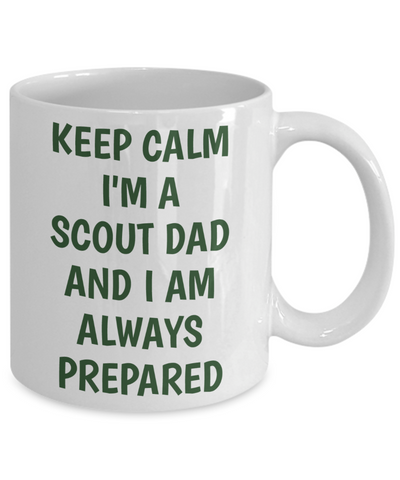 Keep Calm Scout Dad Mug