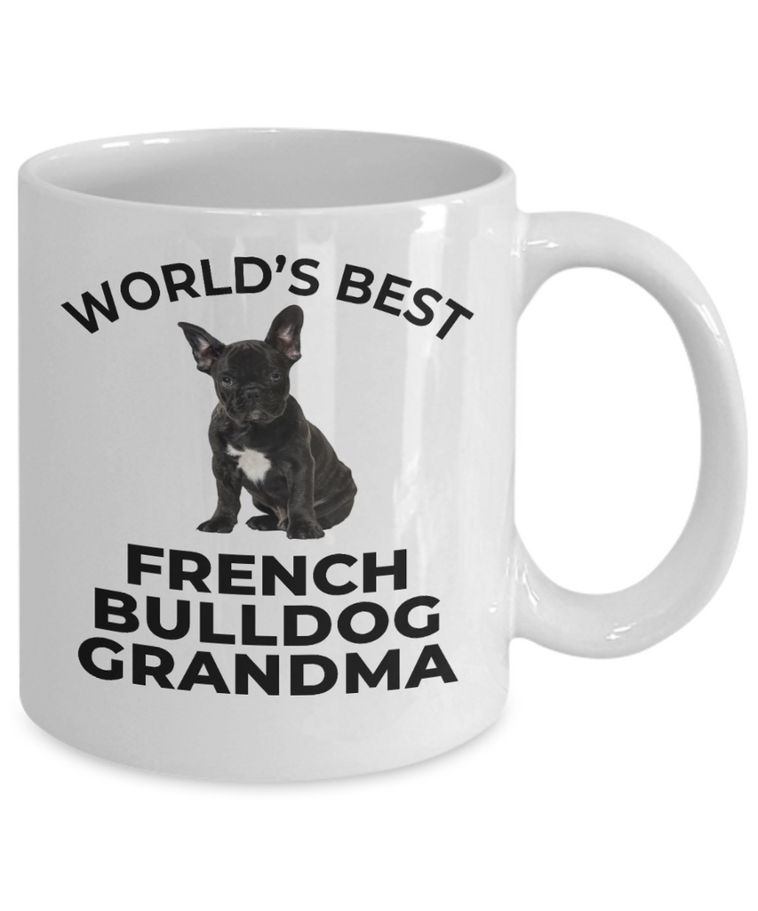 French Bulldog Grandma Puppy Dog Coffee Mug