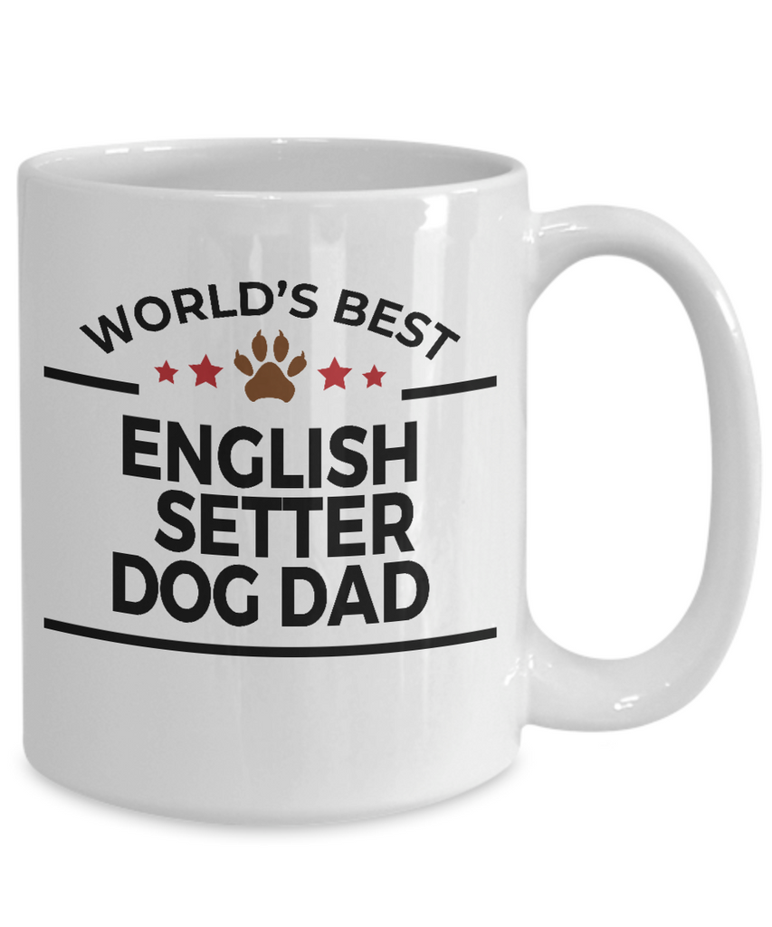 English Setter Dog Dad Mug