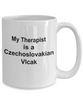 Czechoslovakian Vlcak Dog Owner Lover Funny Gift Therapist White Ceramic Coffee Mug