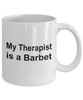 Barbet Dog Therapist Coffee Mug