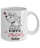Happy Valentine's Day Cutie Puppy Coffee Mug