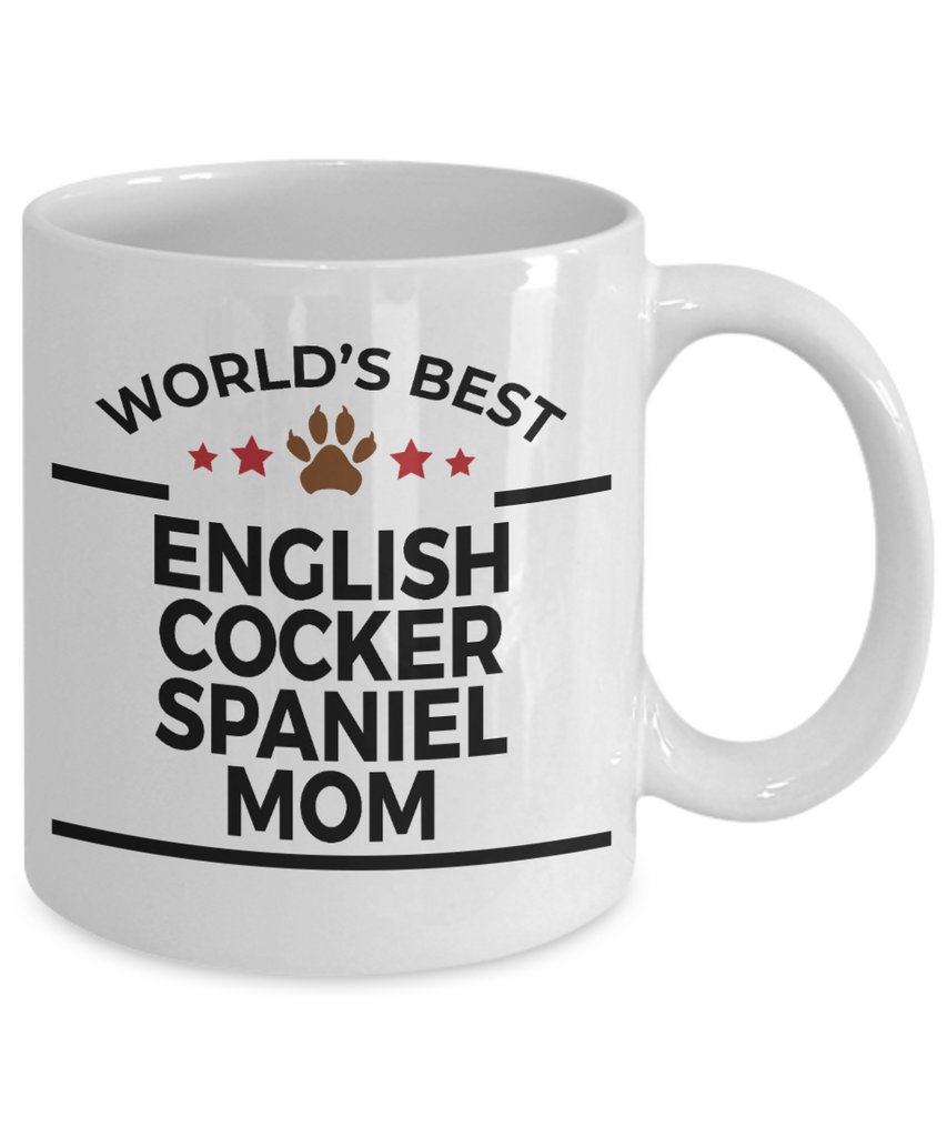 English Cocker Spaniel Dog Mom Mug
