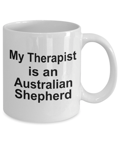 Australian Shepherd Dog Therapist Coffee Mug