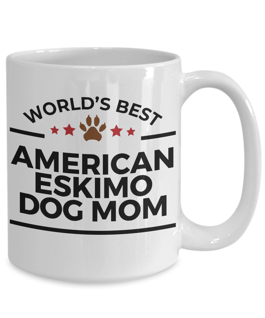 American Eskimo Dog Mom Coffee Mug