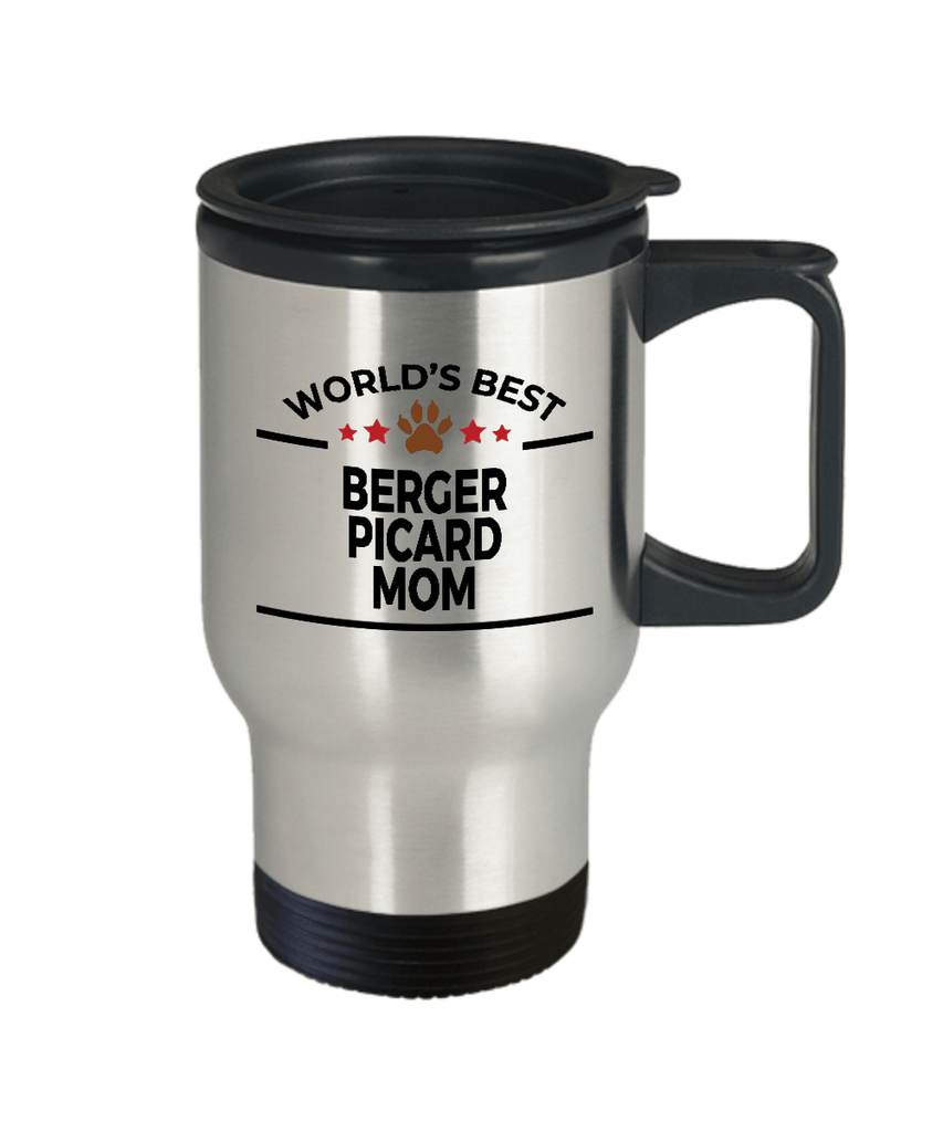 Berger Picard Dog Mom Birthday Travel Coffee Mug