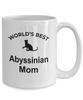 Abyssinian Cat Mom Coffee Mug