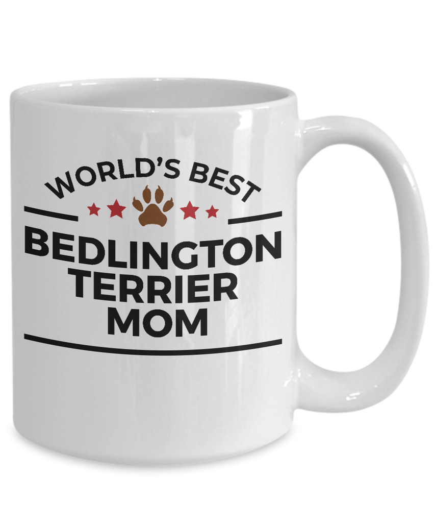 Bedlington Terrier Dog Mom Coffee Mug