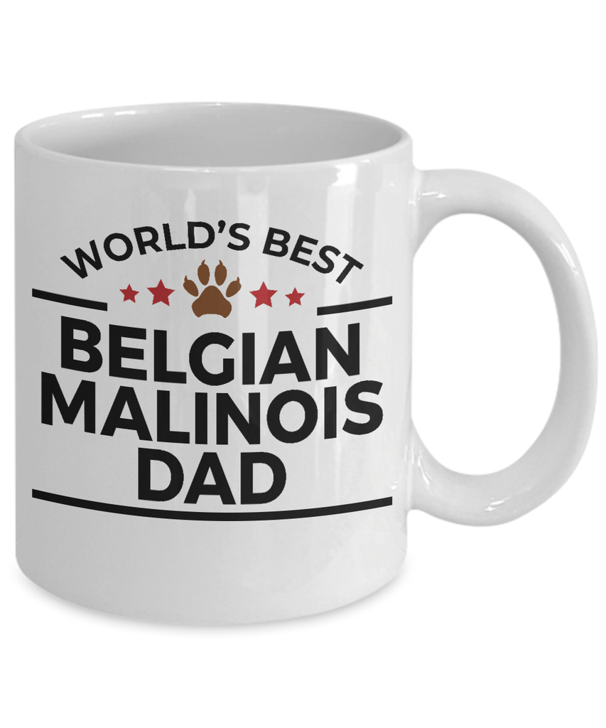 Belgian Malinois Dog Dad Coffee Mug
