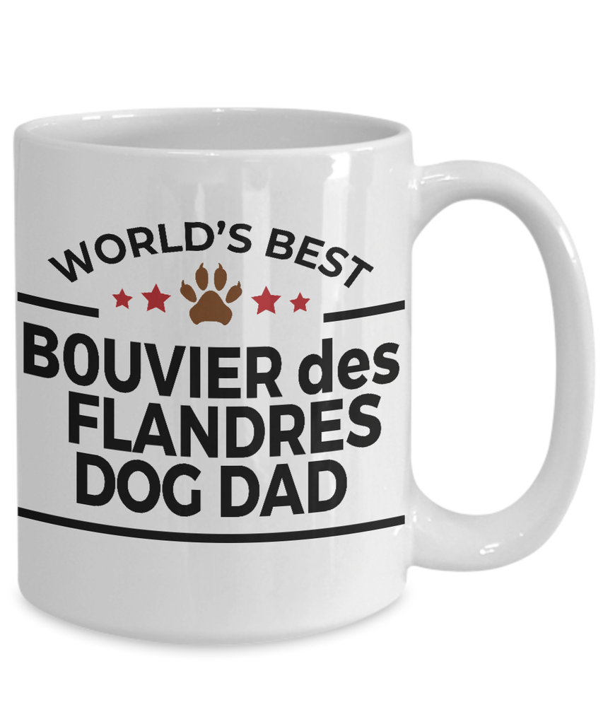 Bouvier des Flandres Dog Dad Coffee Mug