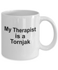 Tornjak Dog Owner Lover Funny Gift Therapist White Ceramic Coffee Mug